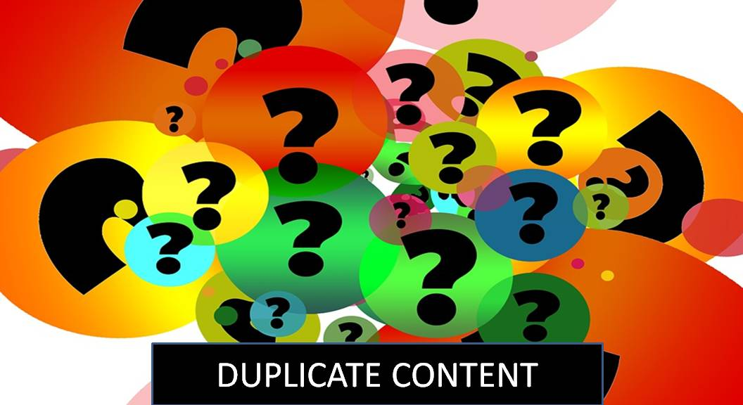 Does duplicate content affect SEO