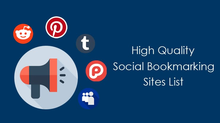50+High Authority Trusted social bookmarking sites list